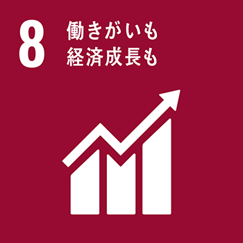 SDGsの取り組み3/働きがいも経済成長も